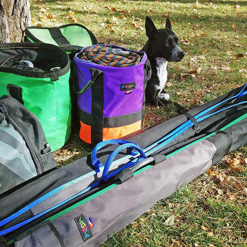 Rope Bag and Arbor Equipment