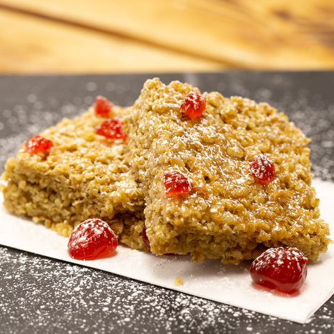 Cherry and Almond Flapjack (Tray)