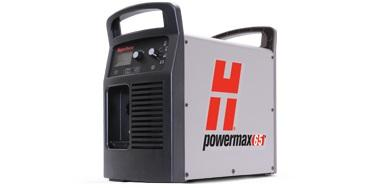 083309 Powermax65 system, 400V 3-PH, CE, plus CPC port, 75° & 15° handheld torches w/consumables, 7.6m leads