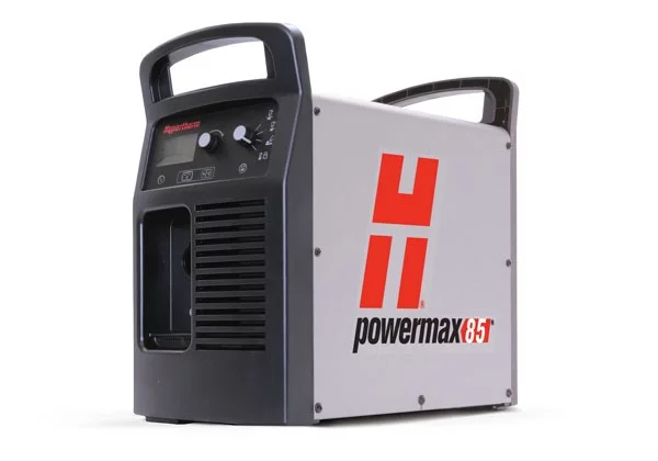 087136 Powermax85 system, 400V 3-PH, CE, plus CPC port, 75° & 180° torches w/consumables, 7.6m lead, remote