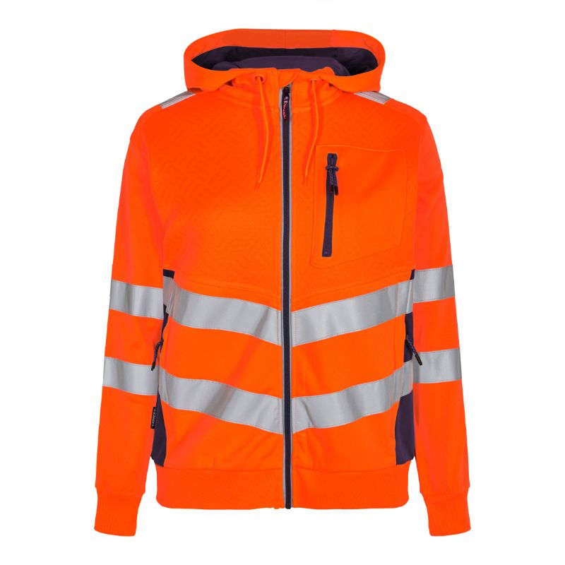 Safety Dame Sweatshirt - Orange/Navy