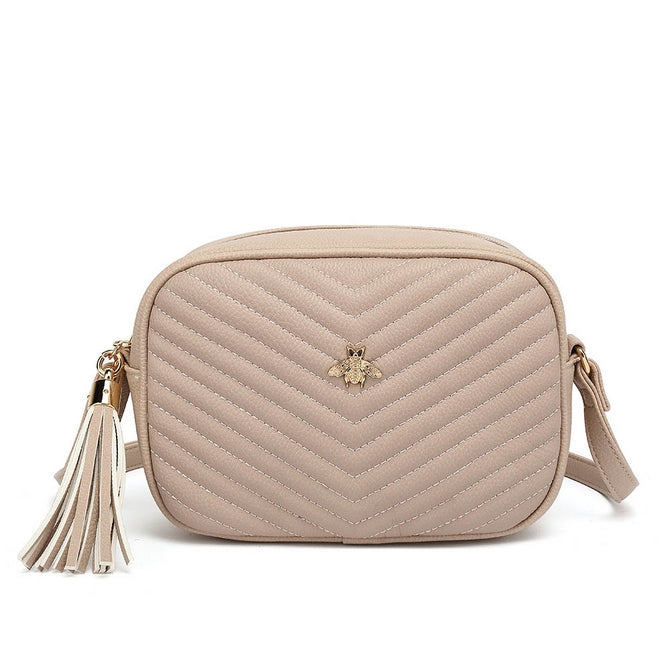 Rome Little Bee Bag Nude