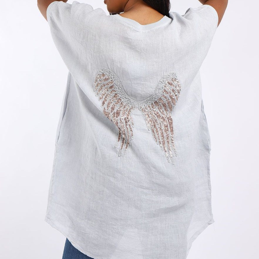 Angel Wing Tunic Silver