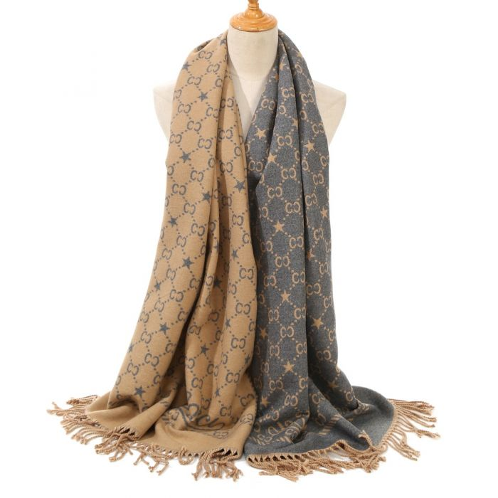 Inspired Scarf Camel