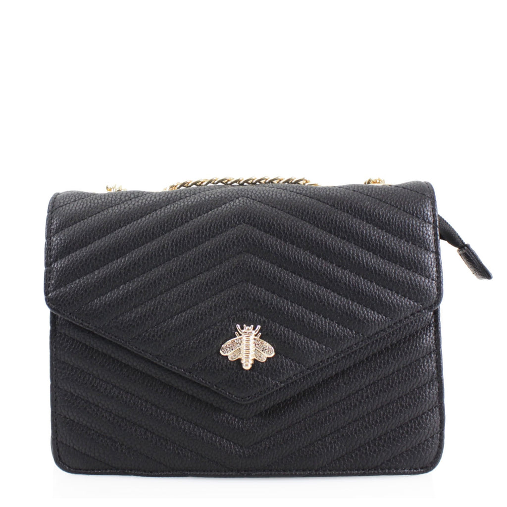 Venice Little Bee Bag Black