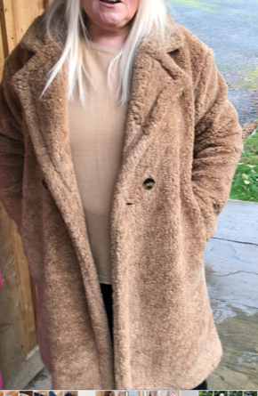 Ted Coat Camel