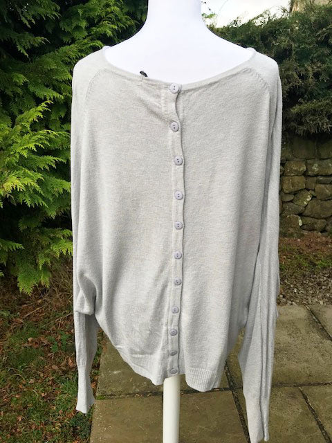 All S Style Jumper Silver