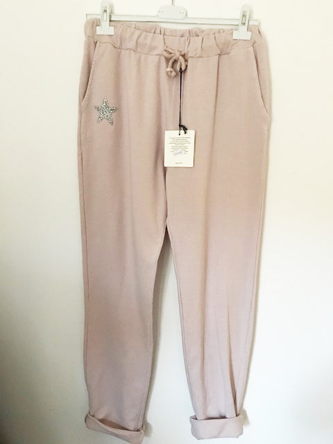 Wish Upon A Star Blush Pink Joggers