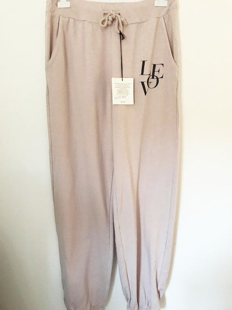 lOVE Joggers Blush Pink