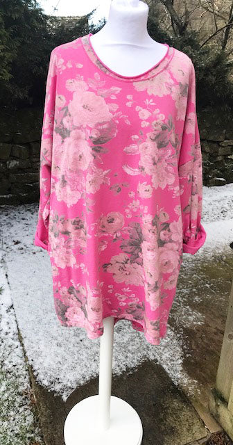Florelle Bubble Gum Pink Tunic