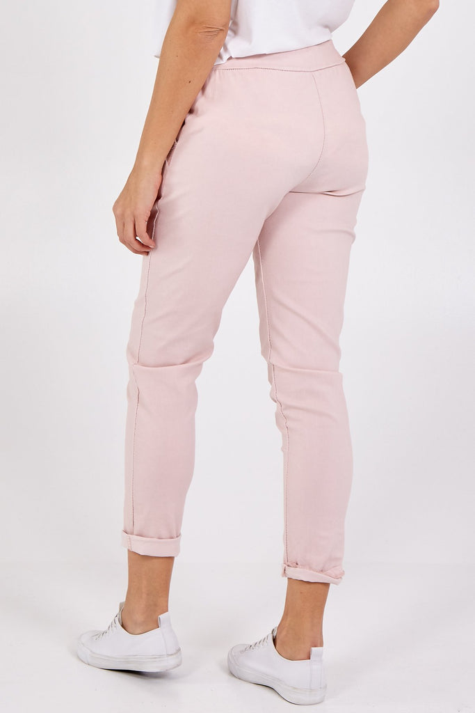 Sequin Pocket Magic Pants Pink