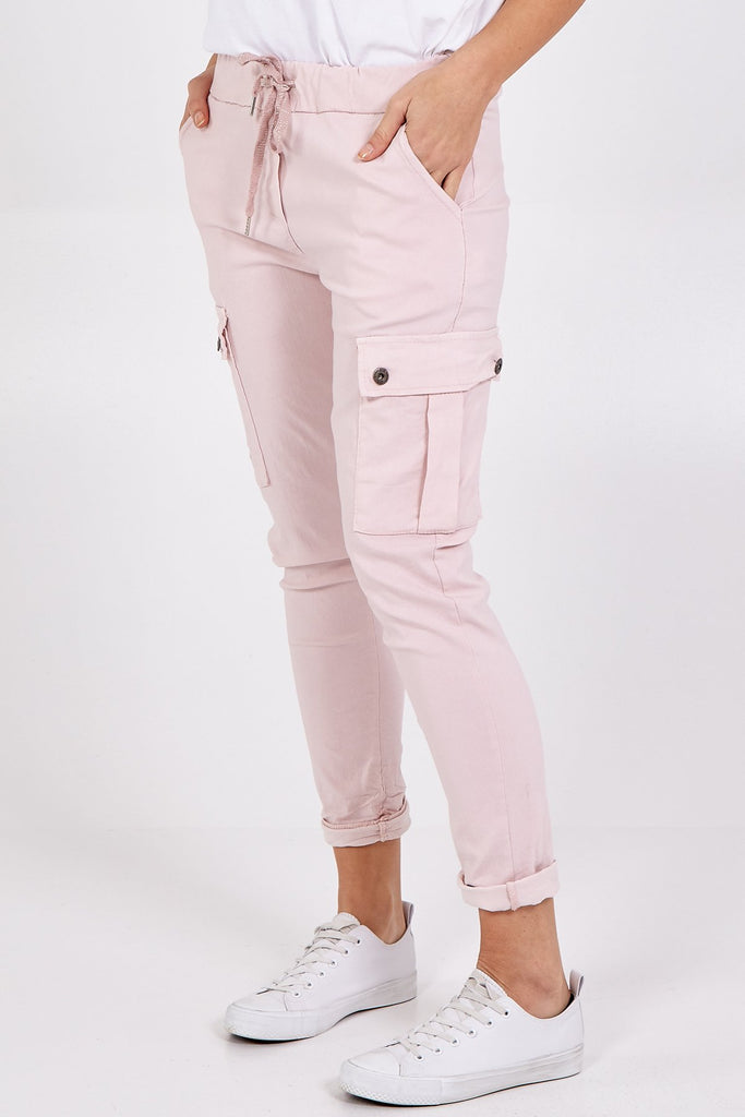 Cargo Magic Pants Pink