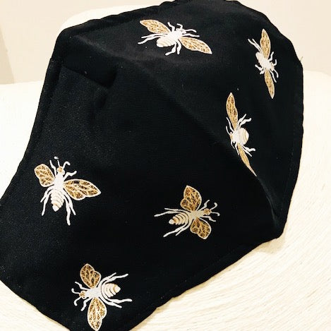 Little Bee Mask Black