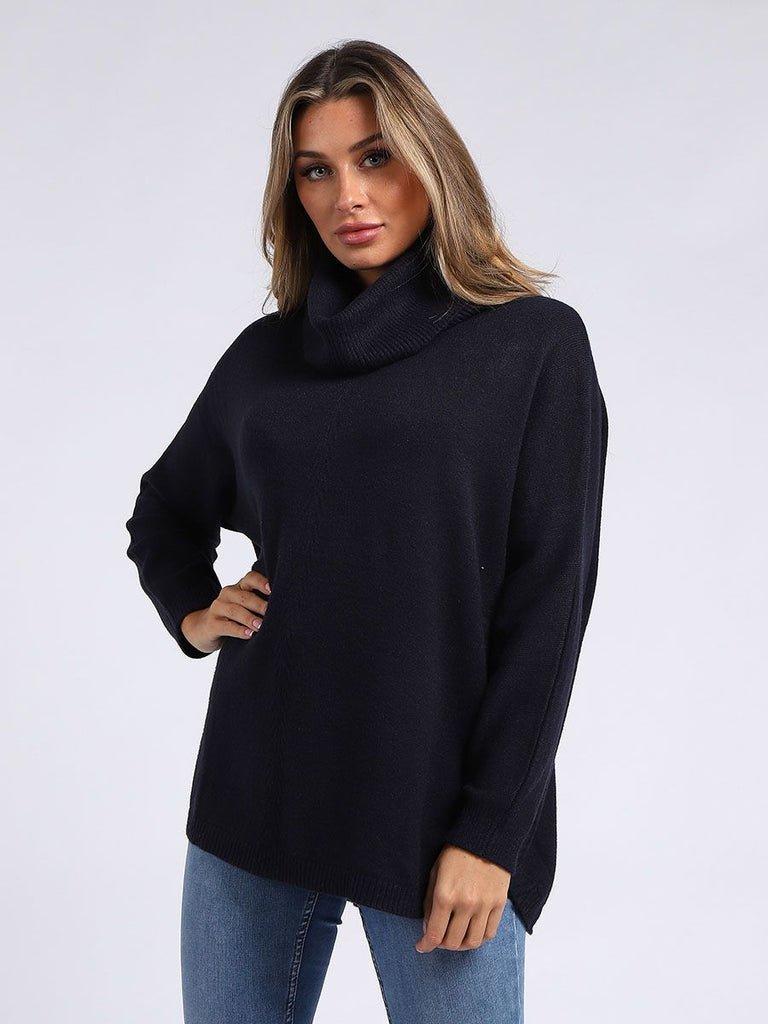 Side Button Jumper Black