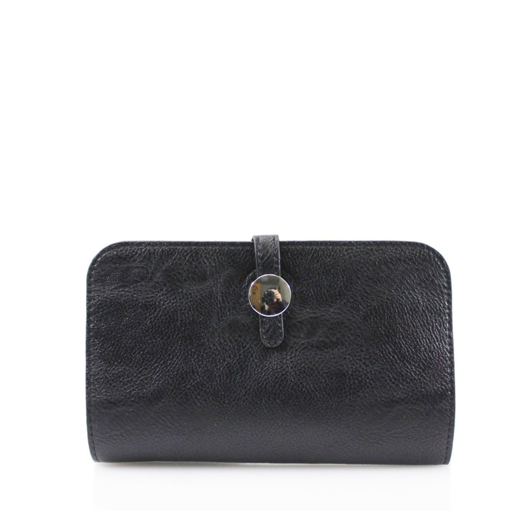 Silver Stud Purse Black