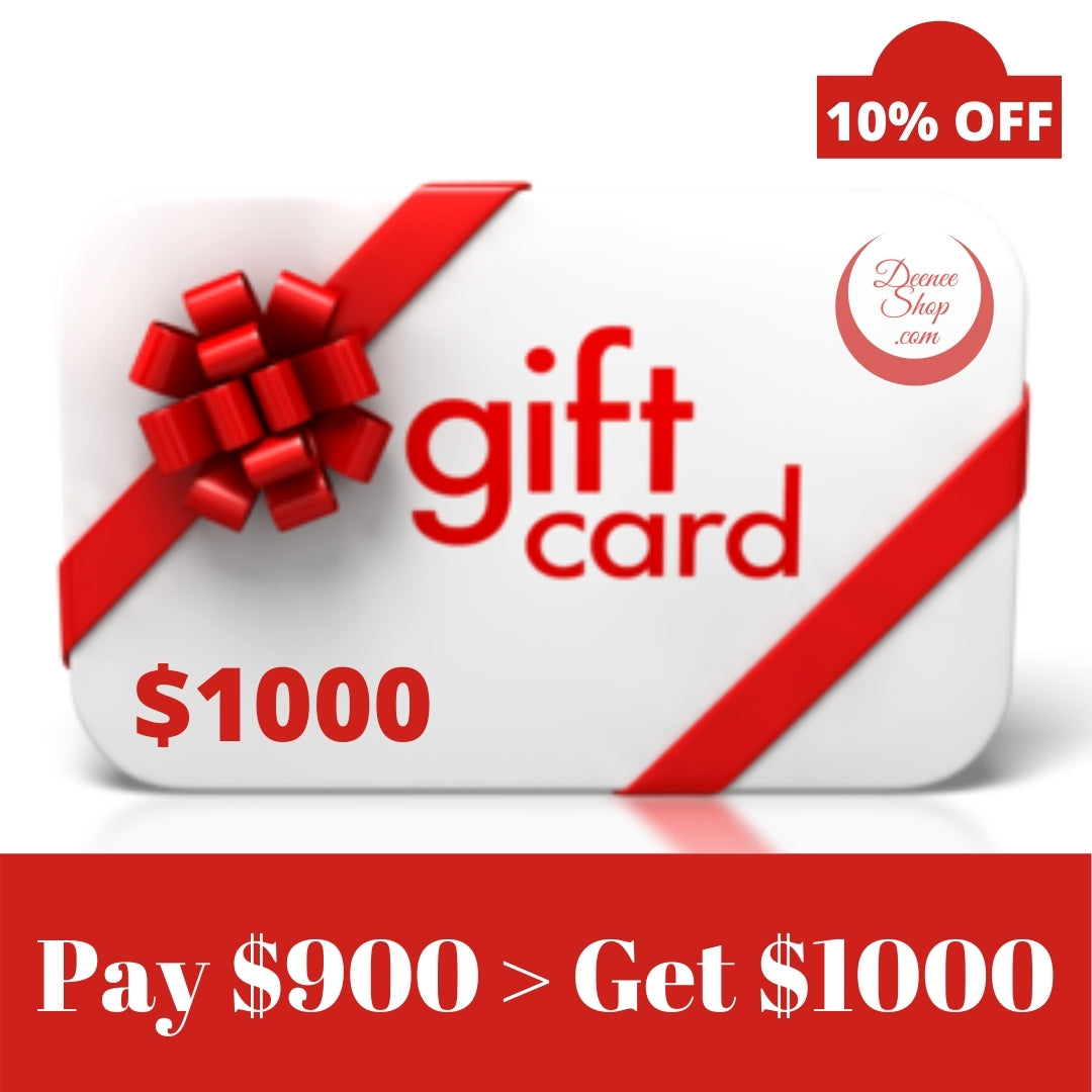 Gift Cards DeeneeShop.com (USD 10 to 1000)
