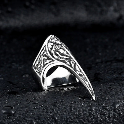 Ertugrul Thumb Ring (Turkish Kayi Gents, Ladies, Kids Jewelry) 7 Sizes