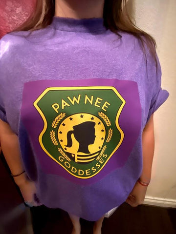 Pawnee Goddess T Shirt | Parks and Recreation - SpaceOutLabs