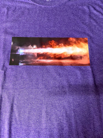 SpaceX Raptor Engine Test Fire T-Shirt