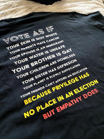 'Vote As If' T-Shirt - SpaceOutLabs