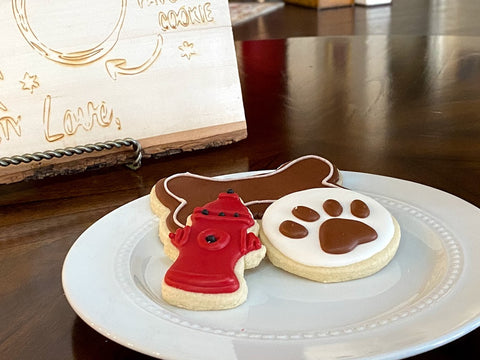 Dog Lovers Pet Themed Shortbread Cookie Sweet Treat