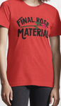 The Bachelor - Final Rose Material Graphic Tee