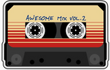 Awesome Mix Vol 2 Retro Graphic Tee
