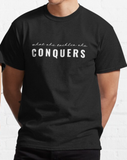 What She Tackles She Conquers GG Girls Graphic Tee