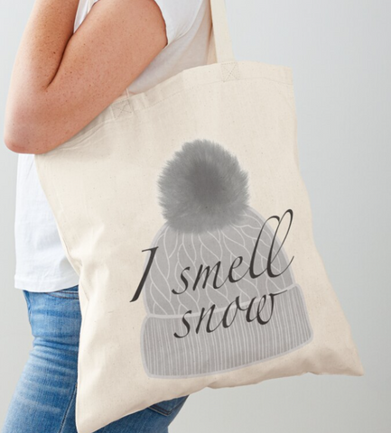 I Smell Snow Gilmore Girls Canvas Tote Reusable Bag