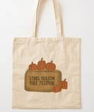 Stars Hollow Fall Festival Gilmore Girls Canvas Tote Reusable Bag