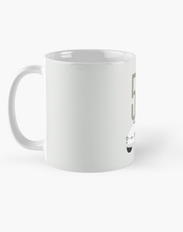 Fiat 500 - Car Lovers Ceramic Mug