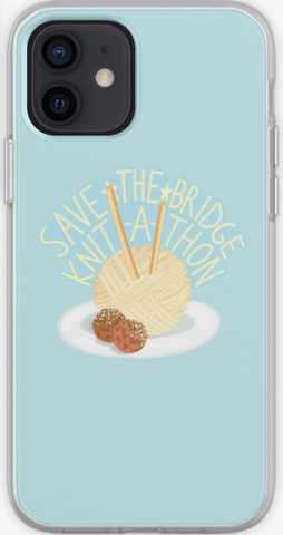 Save The Bridge Knit A Thon - Gilmore Girls Phone Case- iPhone, Samsung Galaxy, Galaxy Note Phone Case