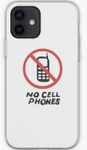 No Cell Phones Luke's Coffee Sign - Gilmore Girls Phone Case- iPhone, Samsung Galaxy, Galaxy Note Phone Case