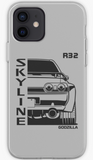 Skyline R32 Skyline GTR - Car Lovers Phone Case- iPhone, Samsung Galaxy, Galaxy Note Phone Case