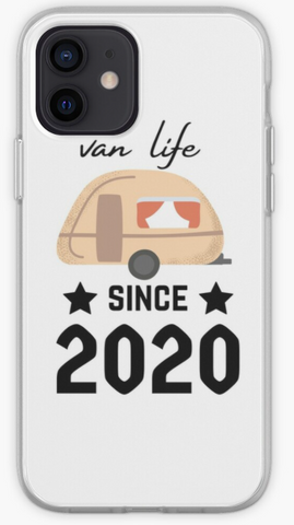 Van Life Since 2020 - Travelers & Explorers Phone Case- iPhone, Samsung Galaxy, Galaxy Note Phone Case