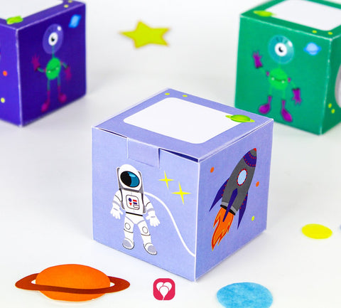Space Themed Gift Box