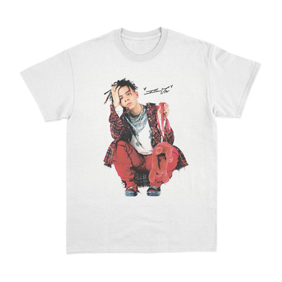 Iann Dior Photo White T-Shirt