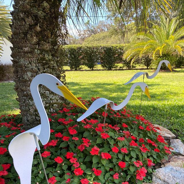 Swirl Bird-a whimsical and dynamic bird that spins with the slight garden breeze