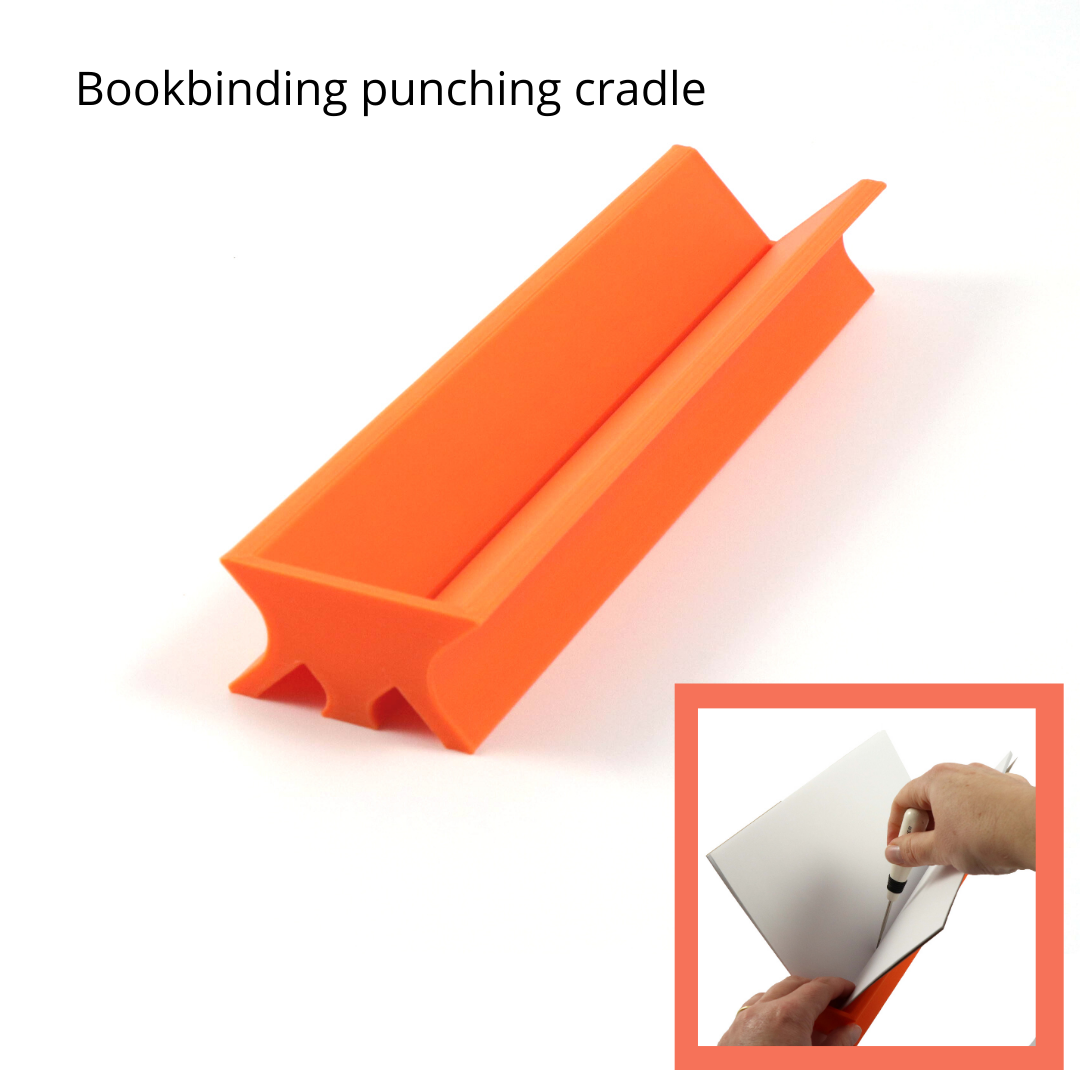 Bookbinding punching cradle - Colorway Arts