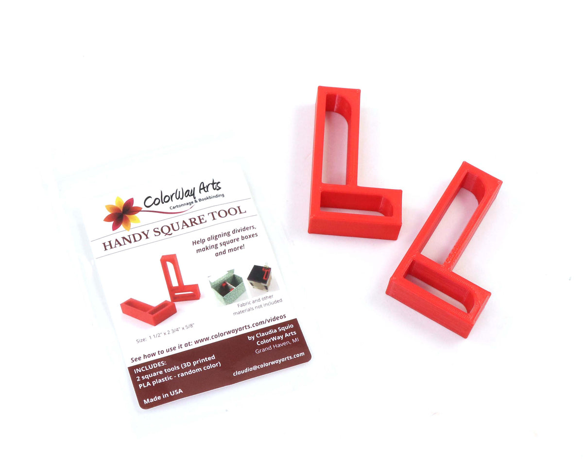 Handy square tool (set of 2) - Colorway Arts