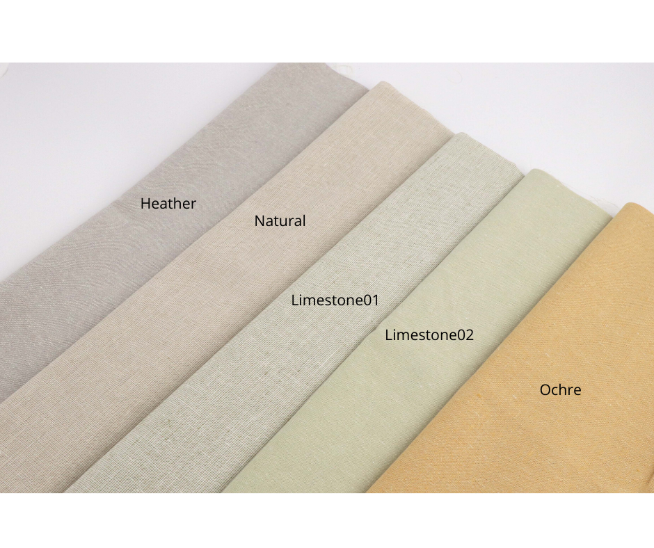 Essex Linen Fabric (natural) - Colorway Arts