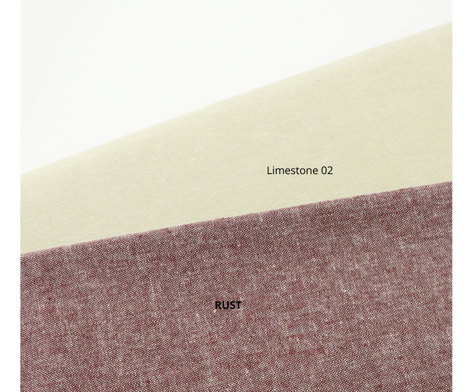 Essex Linen Fabric (Limestone02) - Colorway Arts