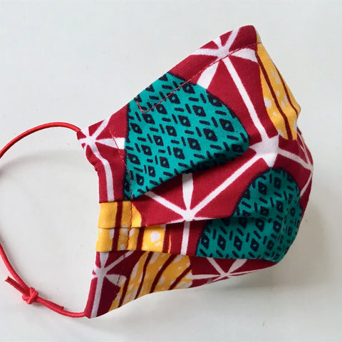 Fabric Face Mask - African Batik
