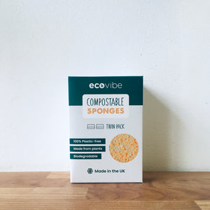 Ecovibe Compostable Dish Sponges