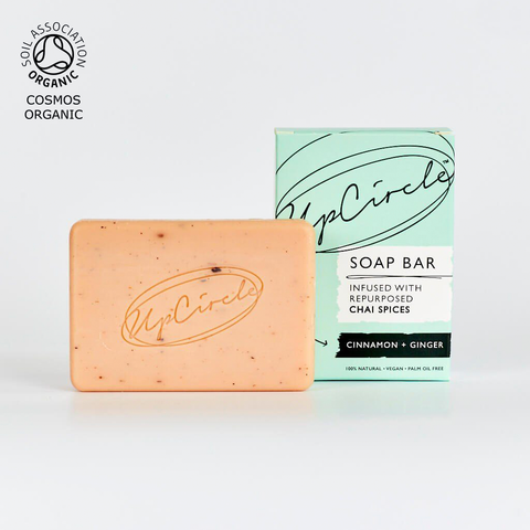 UpCircle Soap Bar Infused with Repurposed Chai Spices