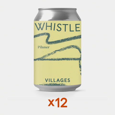 Whistle Unfiltered Lager Case