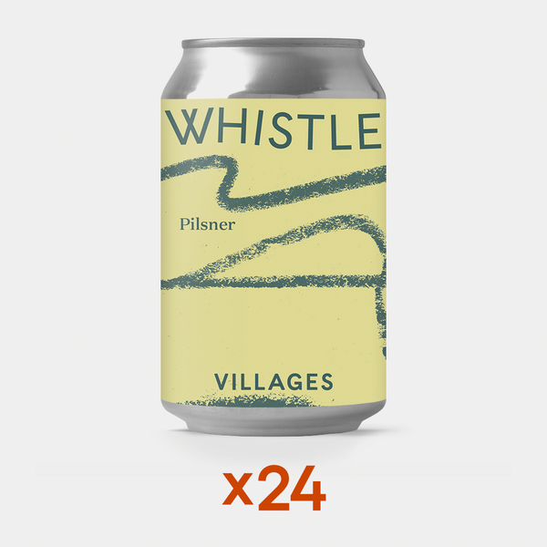 Case of Whistle Pilsner