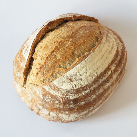 White sourdough bread