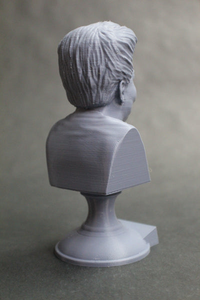 Maya Angelou American Poet Sculpture Bust on Pedestal