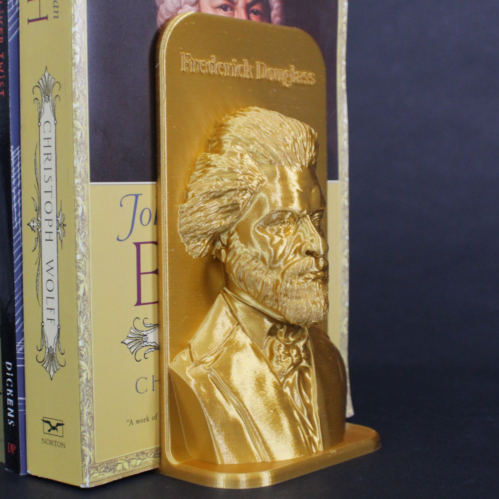 Frederick Douglass Bookend